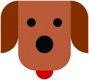 Dog_symbol_flat_cmyk