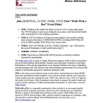 TMA News Advisory