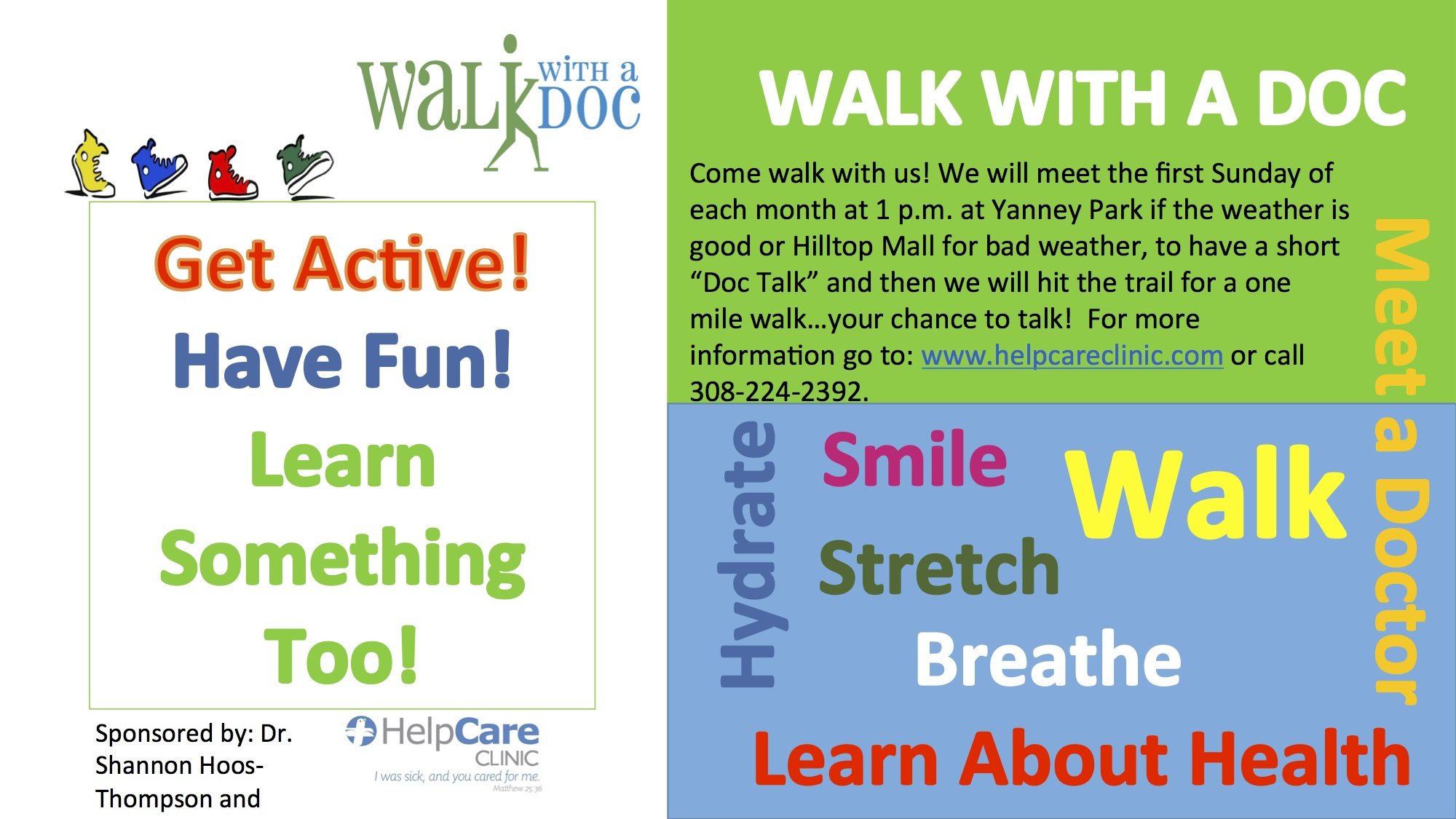 Walk with a Doc Flyer (1)