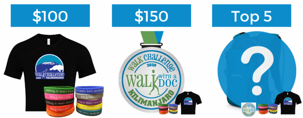2020 Walk Challenge Swag